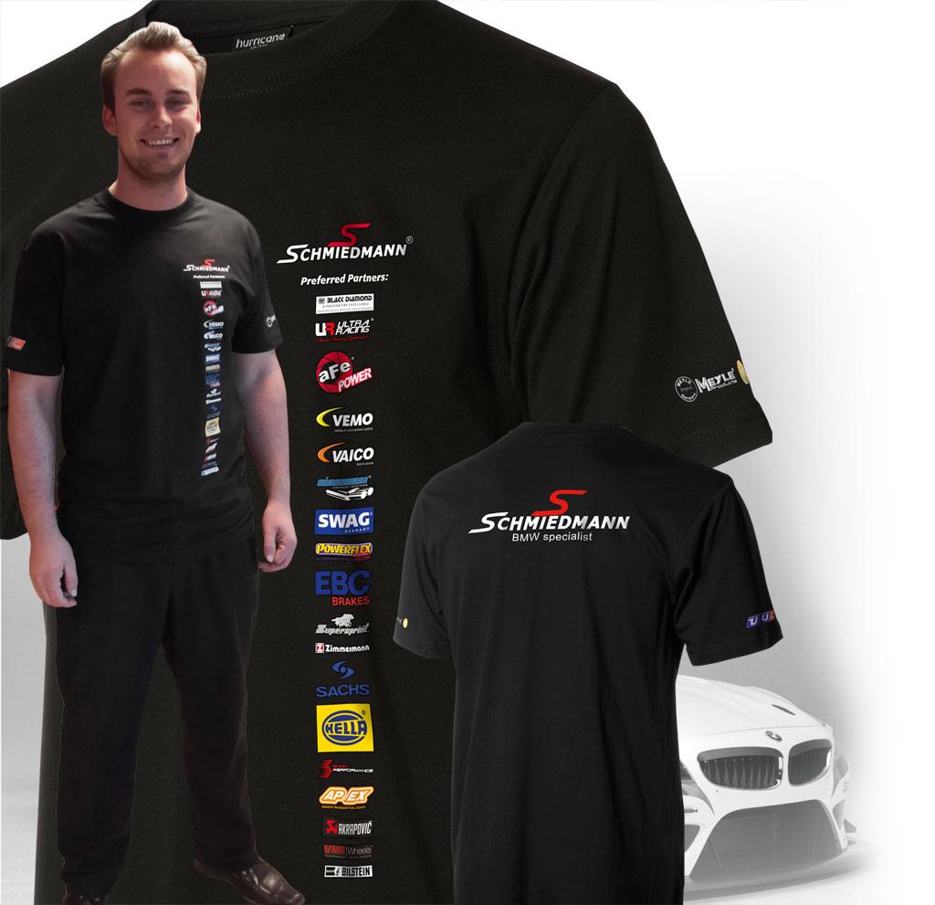 Schmiedmann gratis t-shirt
