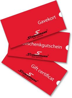 Schmiedmann gavekort