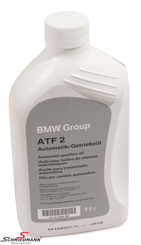 Automatic Transmission Oil Atf 2 1l Original Bmw