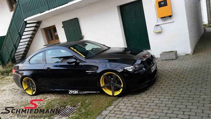 18 Quot Z Performance Type 6 Rim 8x18 Matte Black