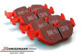 DP3690CBMW E30 -  Racing brake pads rear EBC red stuff (for street and extreme driving)