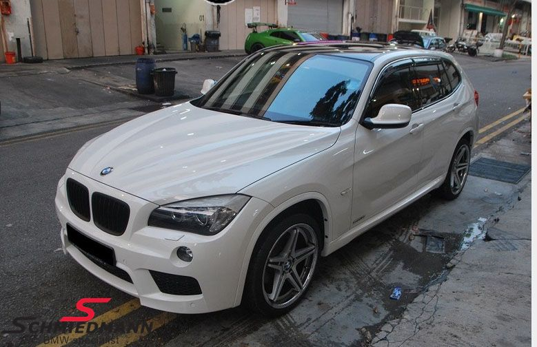 equipment styling outside for bmw x1 e84 new parts. Black Bedroom Furniture Sets. Home Design Ideas