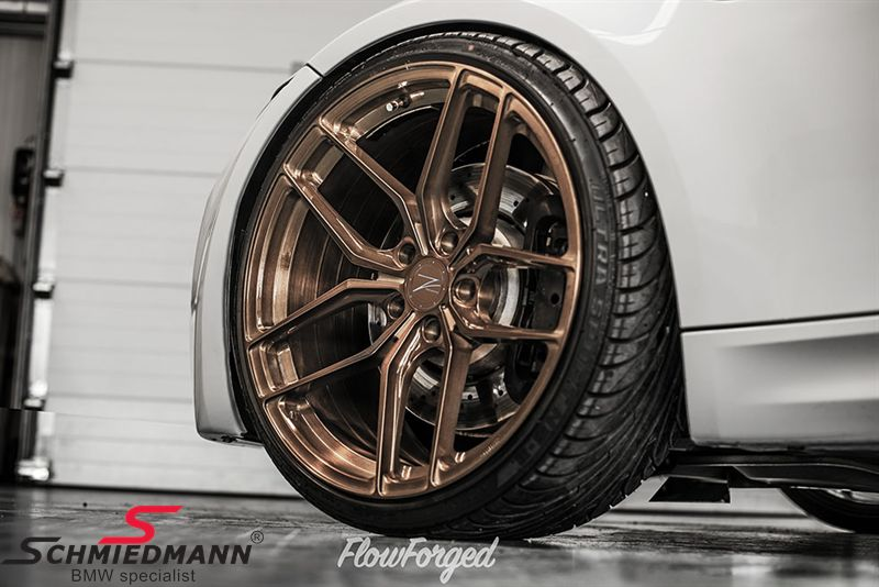 19 Quot Z Performance Flowforged Type Zp2 1 Rim 8 5x19 Et35 Liquid Bronze