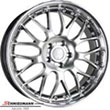 "RSP183SERIELBMW E87LCI -  18"" Rennsport rim 8X18 with polished stainless steel lip"