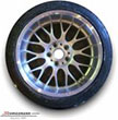 "R58183439-8510BMW E39 -  18"" 8,5+10 Rondell 58 mounted with 235/40+265/35ZR18"