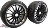 "SMC195SERIEKS BMW E39 -  19"" SMC black m.polerad rostfri kant 8,5+10X19 m.245/35+275/30/19"