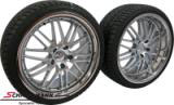 "GP1985955SERIEK BMW E39 -  19""8,5+9,5x19 GP German Perfection with polished steel lip with 235/35+265/30/19"