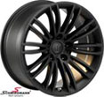 "R4918105SERIESLBMW E61LCI -  18"" Rondell design 0049 black mat rim 10x18 (fits only rear)"