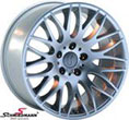 R20418953SERIELBMW E92 -  18&quot; Rondell design 0204 silver rim 9,5x18 (fits only rear)
