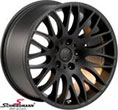 R20418953SERIESLBMW E92 -  18&quot; Rondell design 0204 black-mat 9,5x18 (fits only rear)