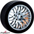 "R204173SERIEBMW E36 -  17"" Rondell 0204 wheels 8X17 with 225/45/17"