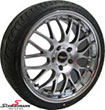 "RSP185SERIE BMW E39 -  18"" Rennsport rims with polished stainless steel lip 8x18 with 235/40/18"