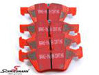 DP31493CBMW E93LCI -  Racing brake pads front EBC red stuff (for road and extreme driving)