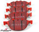 DP31289CBMW Z4 E85 -  Racing brake pads rear EBC red stuff (for street and extreme driving)