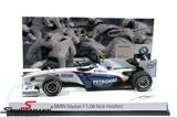 "80-42-2-155-795BMW E24 -  BMW miniature BMW Sauber F1 Race Car ""Nick Heidfeld"""