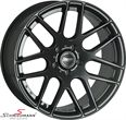 "TD19953SSERIELBMW E91LCI -  19"" -Track Day- black rim 9,5x19 (fits only rear)"