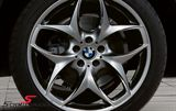 "36-11-6-782-835BMW X5 (E53) -  21"" Doppelspeiche 215 Ferricgrey rim 11,5X21 (original BMW) (fits only rear)"