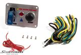 IG3SWSSBMW E81 -  Panel with ignition -ON/OFF- flip switch + -START/STOP- switch for racing