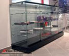 MONTS149BMW E90 -  Showroom glasscase