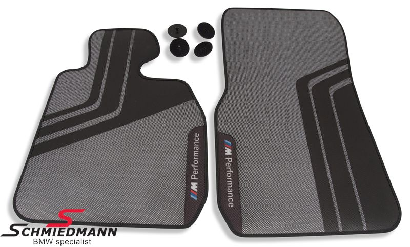 Schmiedmann Floormats Quot Bmw M Performance Quot Rear Original Bmw