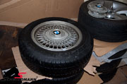 """BMW kreuzspeichen-styling 17"""" vinterhjul"""