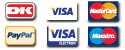 Payment method logos