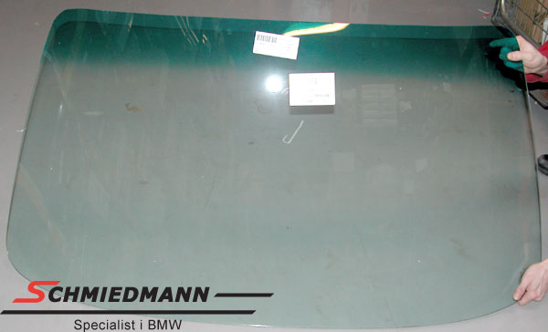 Frontrude grøntonet foroven (original BMW)