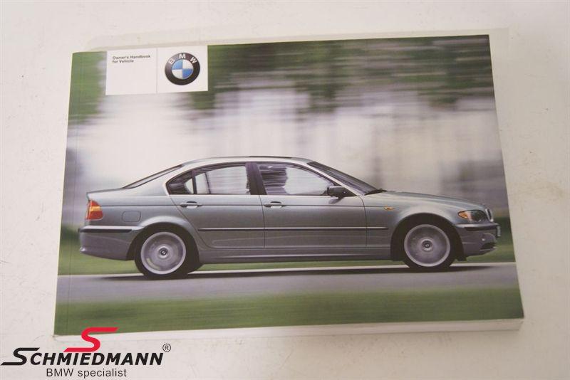 bmw e46 owner s handbook english schmiedmann used parts rh schmiedmann com