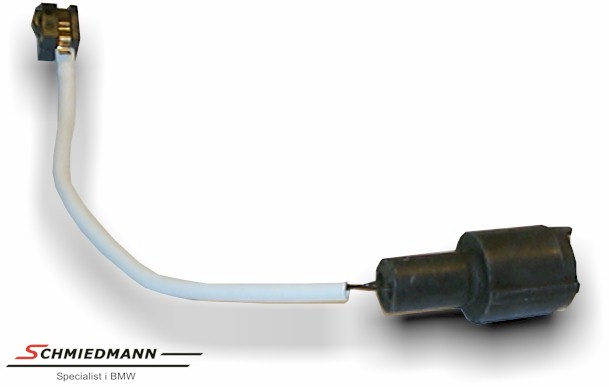 Brake pad wear sensor rear