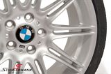 "36118037141K 36118037141 36 11 8 037 141  19"" 8+9x19 alufælge M-Doppelspeiche 225 m.225/35+255/30/19 (original BMW)"