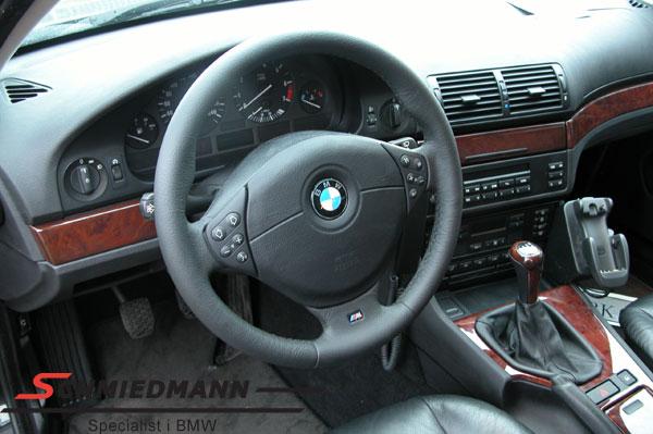 Sportsrat læder M-Technic inklusiv airbag D=379MM