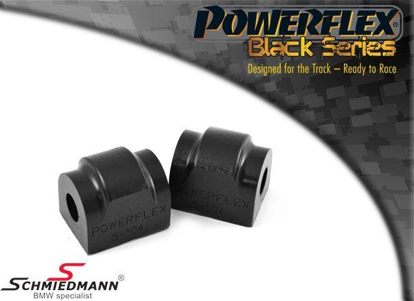 Powerflex racing -Black Series- Stabilisator Gummilager-satz hinten 18MM  ( für Race und Track Day´s)