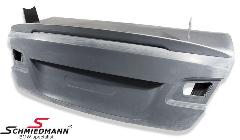 Trunk lid with lip -GT2 + GT4- carbon fibre