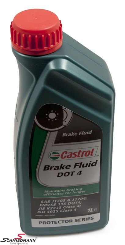 Brake fluid 1ltr. Castrol DOT4 Response