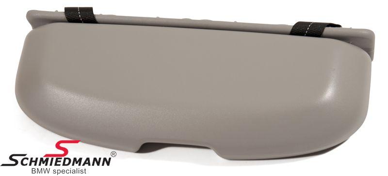 Brilleboks eftermonterings-sæt, grå