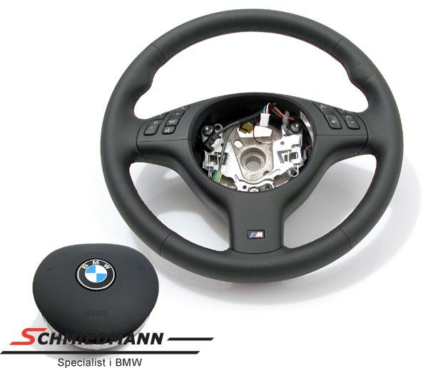 Sportsrat læder M-Technic inklusiv airbag