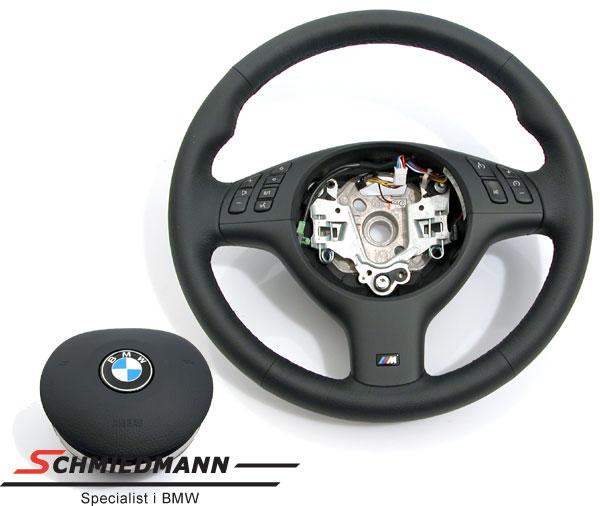 Sportsrat læder M-Technic med multifunktion inklusiv airbag