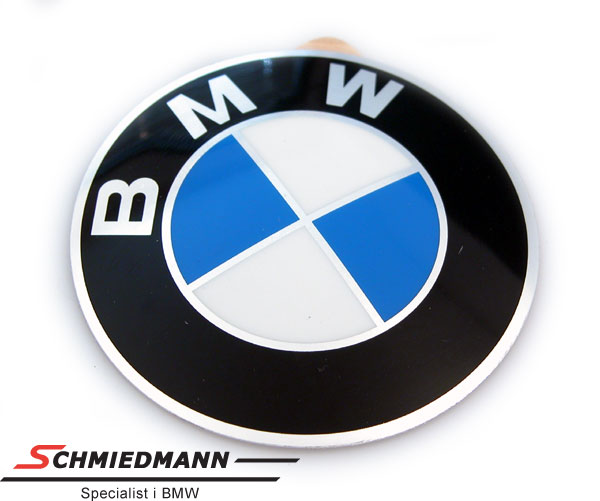 Emblem for wheel center cap D=64,5MM rounded