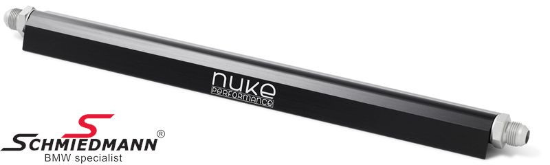 Nuke fuel rail black 6cyl