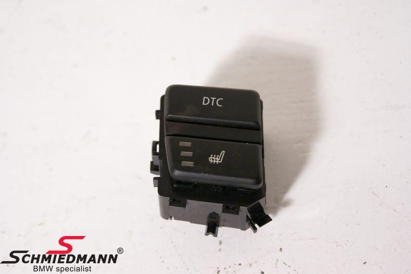 BMW E60 LCI - Schwitch Unit centre console (seatheater/ASC/DSC/PDC