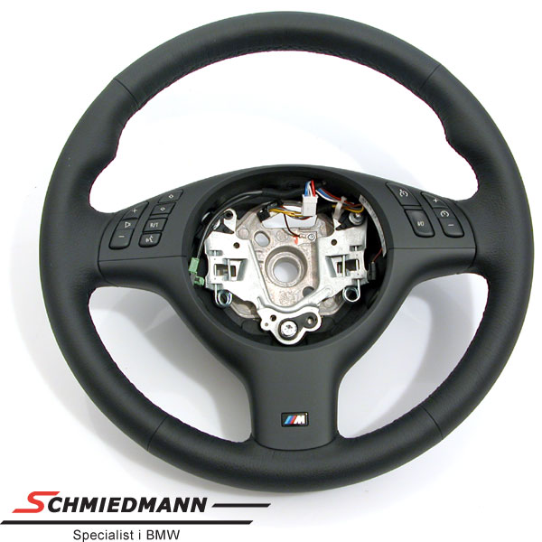 Sportsrat læder M-Technic med multifunktion uden airbag