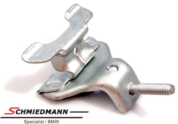 Metal mounting rearsilencer rubber mounting