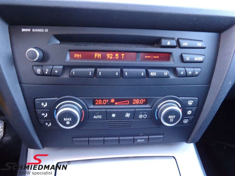 bmw e82 radio cd players schmiedmann used parts rh schmiedmann com 2007 bmw z4 business cd manual BMW Business Radio