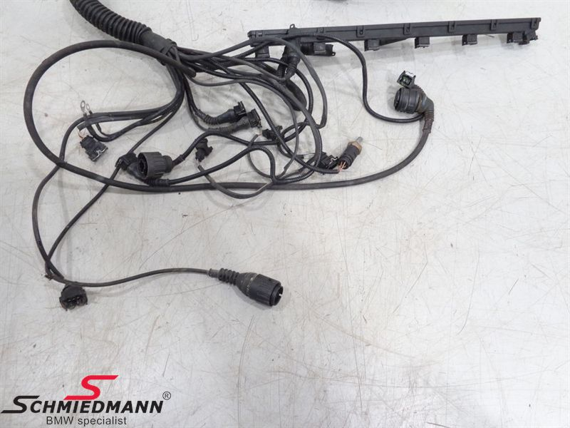 BMW E39 - Engine wiring harness - Schmiedmann - Used partsSchmiedmann