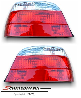 Taillights facelift 98´ red/white