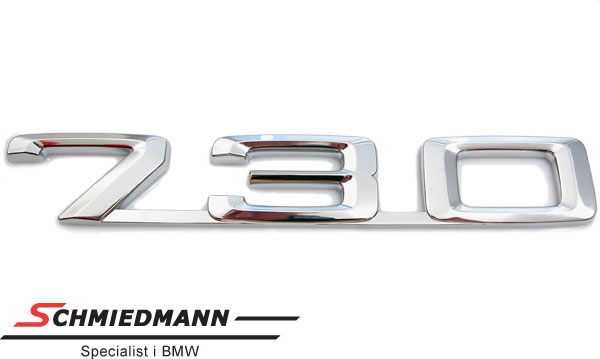 """Emblem trunk lid """"730"""""""