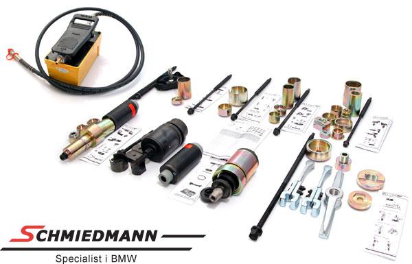 Hydro/Pneumatisk spesial-verktøy til foringer/bærekuler/hjullager