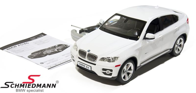 BMW X6 E71 remote controled toy car, size 1:14