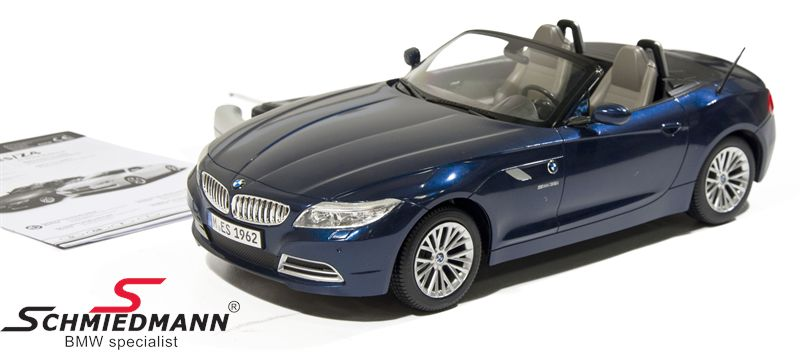 BMW Z4 E89 remote controled toy car, size 1:12