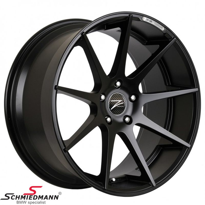 "18"" Z-Performance -Type 8- rim 9x18, Matte Black (fits only rear)"